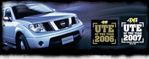 navara won the best 4WD ute award 2 years in a row