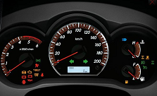 2102 Toyota Hilux Vigo comes with New Stye of Optitron Meter