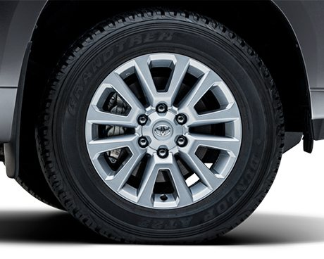 Prado Limited wheel