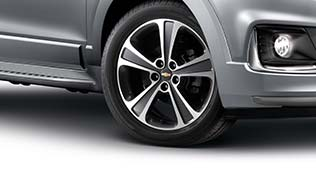 Chevrolet Captiva Sporty and durable 19-inch