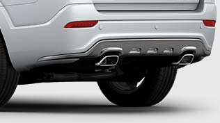 Chevrolet Captiva High performance dual exhaust pipes