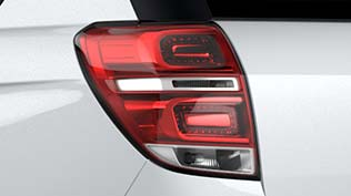 Chevrolet Captiva Sporty LED-studded taillights